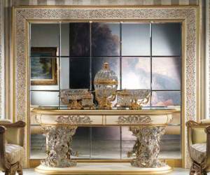 european luxury table with gold