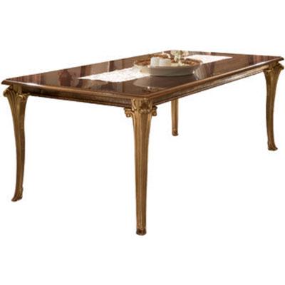 Rectangular fix top table