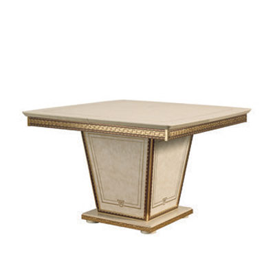 Square table with 1 extension