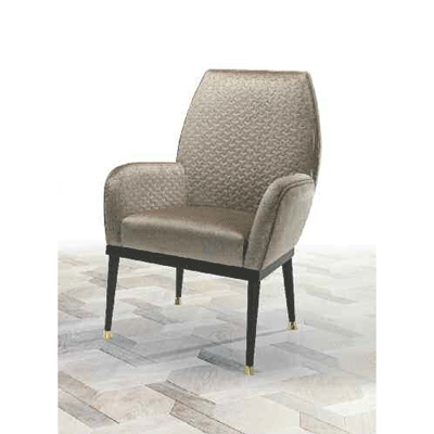 W03HDC Arm chair with leather