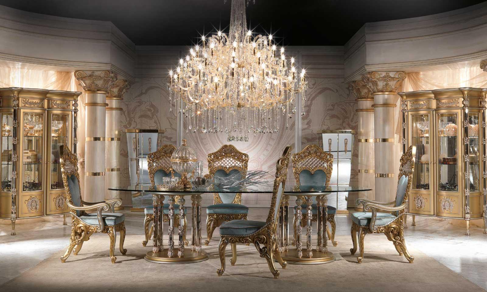 Royal Dining Room 3 Milano Italian Furniture