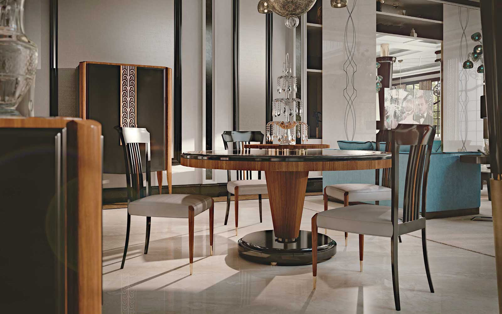 Contemporary Feel vol-1 Dining Room 3