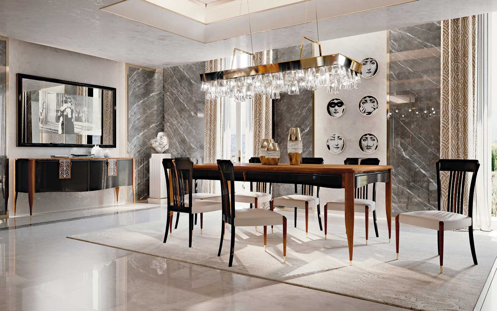 Contemporary Feel vol-1 Dining Room 4
