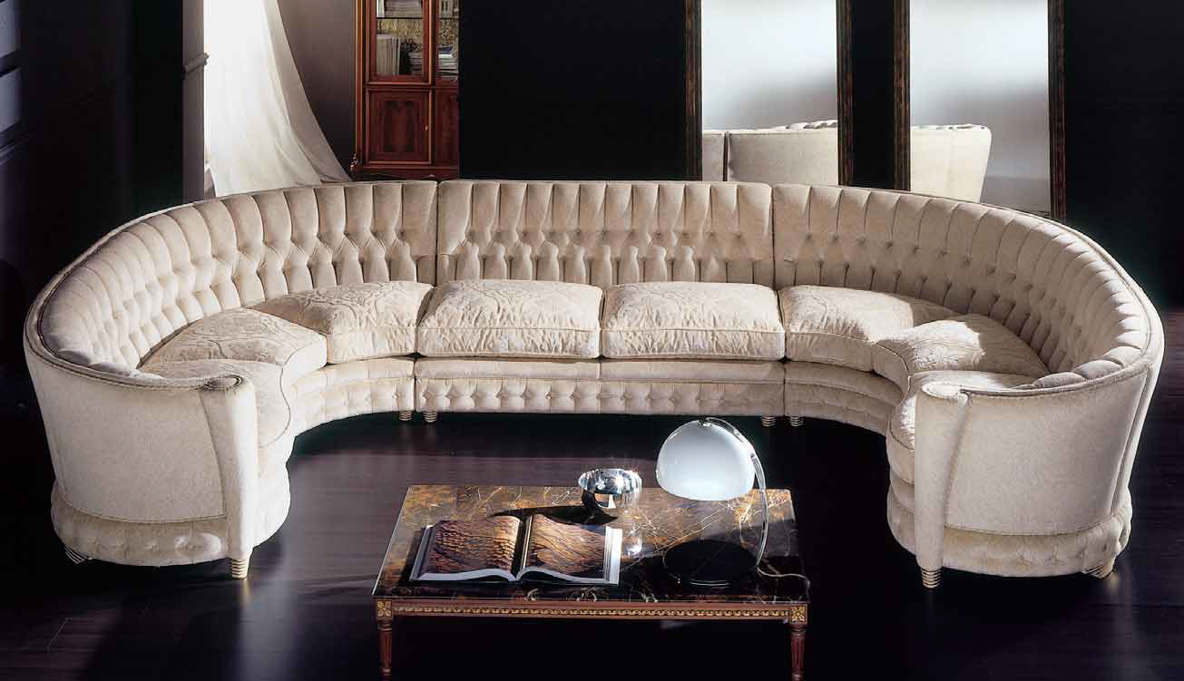 Classic Living Room Set - Milano Italian Furniture